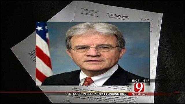 Senator Coburn Blocks 9/11 Funding Bill