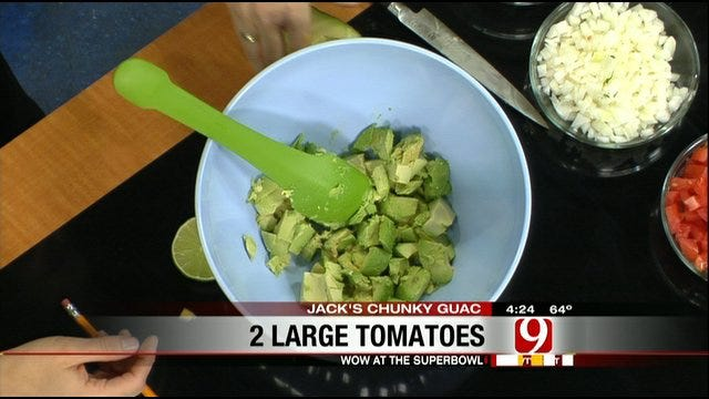 No More Double Dipping: Jack's Chunky Guac!