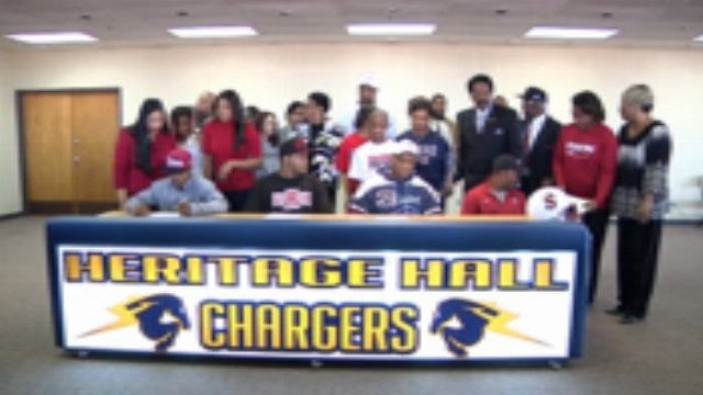 Heritage Hall Signing Day Ceremony