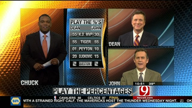 Play the Percentages: Jan. 29, 2012