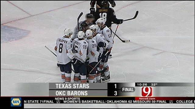 Barons Down Texas Stars For Sixth Straight