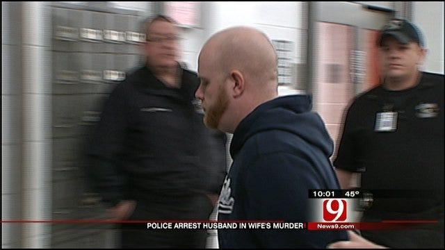 Justin Adams Arrested In Wife's Death