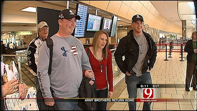Military Family From Blanchard Back Together Again