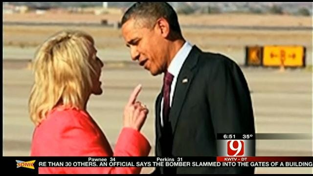 What's The Arizona Governor Saying To President Obama?