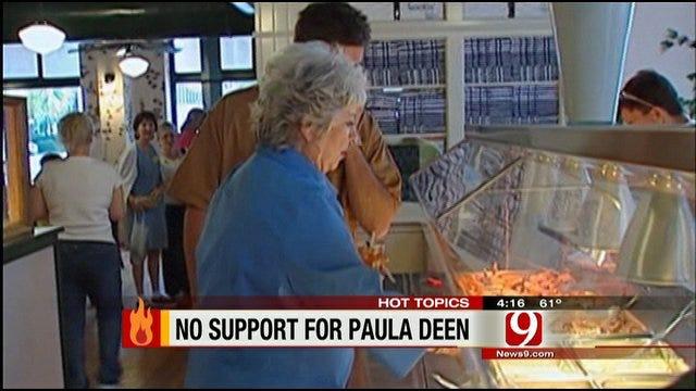 Hot Topics: Paula Deen Receives Few Support For Announcement Of Diabetes