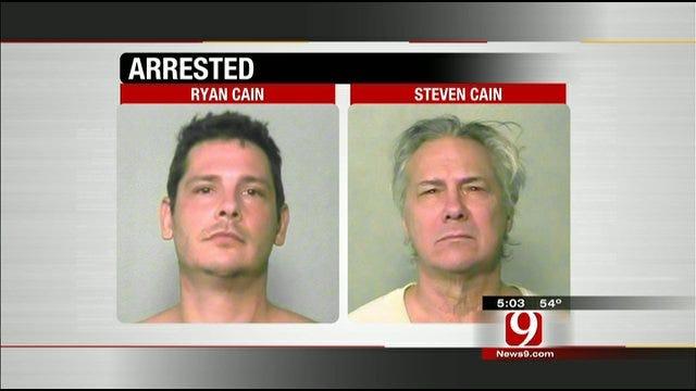 Edmond Father Arrested For Drunken Rage Incident, Son Arrested For DUI