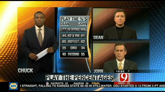 Play the Percentages: Jan. 22, 2012