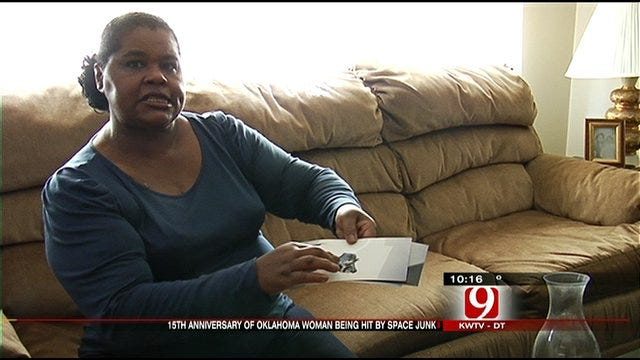 Tulsa Woman Hit By Space Junk Celebrates Anniversary