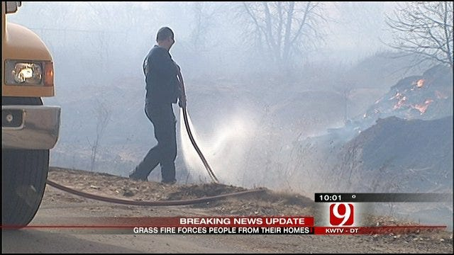 Norman Residents Evacuated From Mobile Home Park