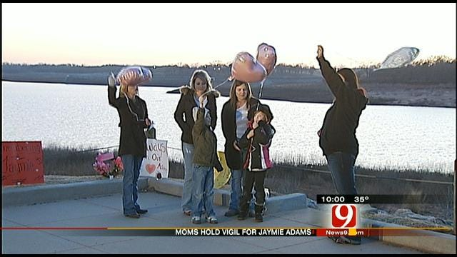 Moms Hold Vigil, Demand Justice For Jaymie Adams
