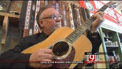 Vintage Guitar Shop Makes Home In El Reno