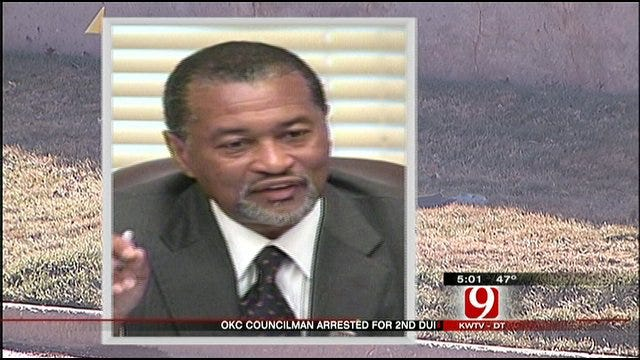 Councilman Arrested On DUI Charge