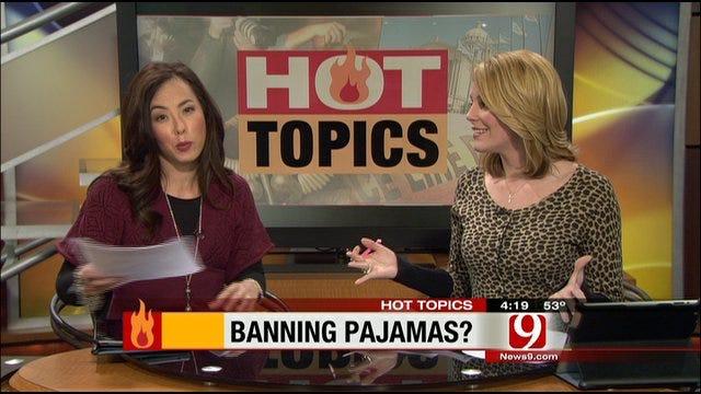 Thursday's Hot Topics: Pagan Mom, Gingrich's Ex, Pajama Ban