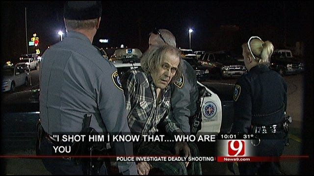 Suspect Admits To Reporter That He Shot His Son
