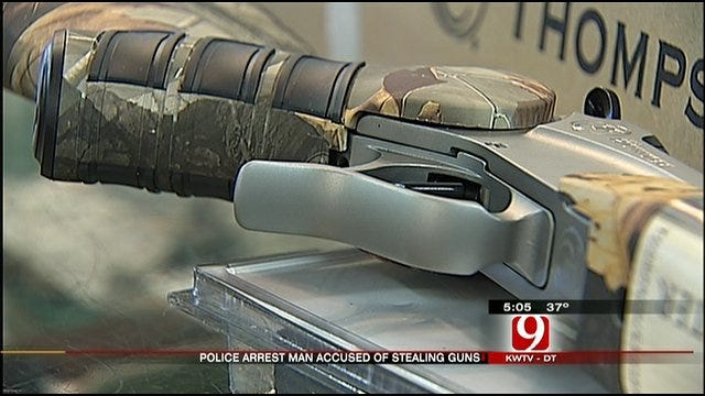 Man Arrested In Bethany For Stealing Guns