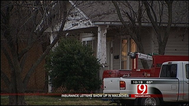 Cushing Residents Warned About Water Line Insurance Letters