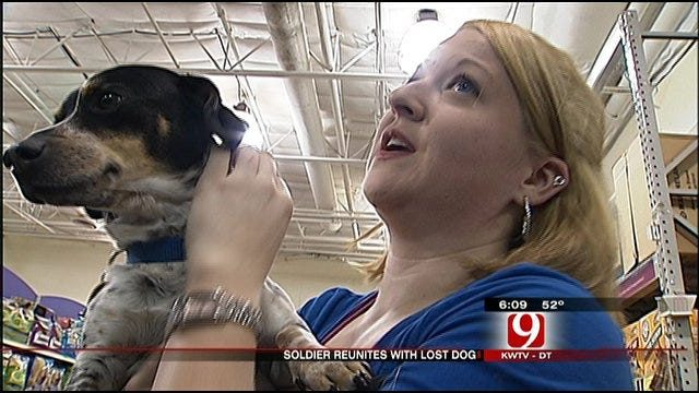 Returning OKC Soldier Reunited With Dog Lost Before Deployment