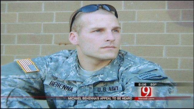 Lieutenant Michael Behenna's Appeal To Be Heard By Military Court