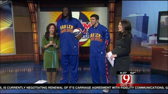 Harlem Globetrotters Join News 9 For Sneak Preview