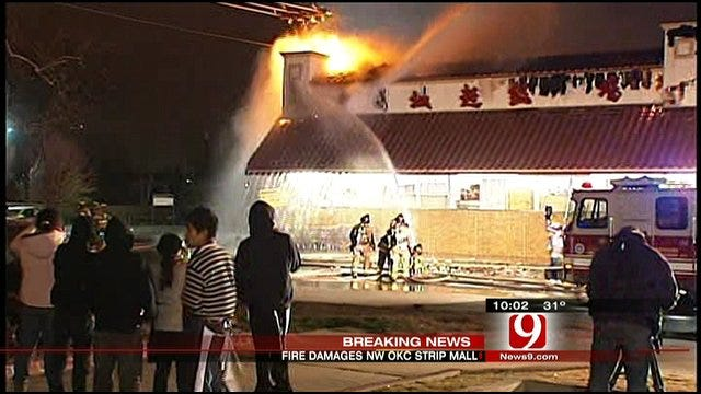 Fire Damages Oklahoma City Grocery Store