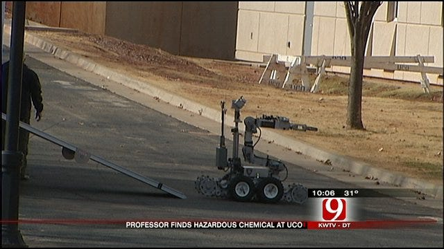 Explosive Chemical Causes Scare At UCO