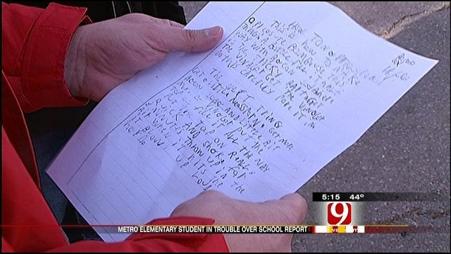 10-Year-Old's Science Report Raises A Stink At A Metro School