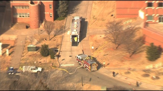 UCO Building Evacuated After Explosive Chemical Found
