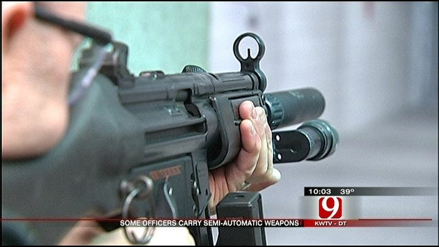 Selected Officers Allowed To Carry Rifle To Protect Themselves