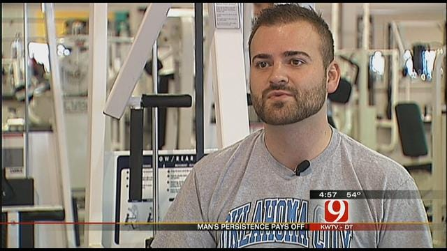 Work Out With Christina And Lauren: Oklahoma Guy Loses 40 Pounds
