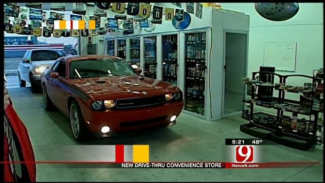 Unique Norman Store Re-defines 'Drive-Through'