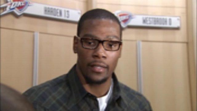 Thunder Postgame: Kevin Durant