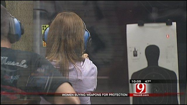 Gun Ownership Climbs Among Women