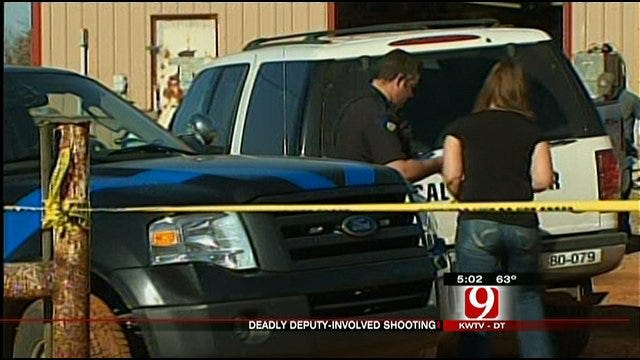 One Man Killed In Noble Following Deputy-Involved Shooting