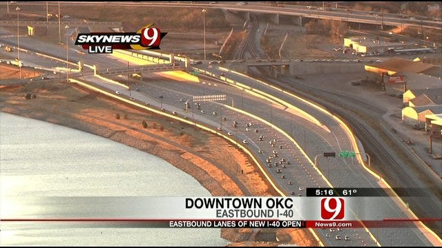 New Section of I-40 Grows With Oklahoma City
