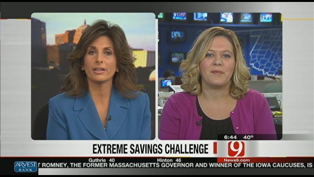 Money Saving Queen: Extreme Savings Challenge