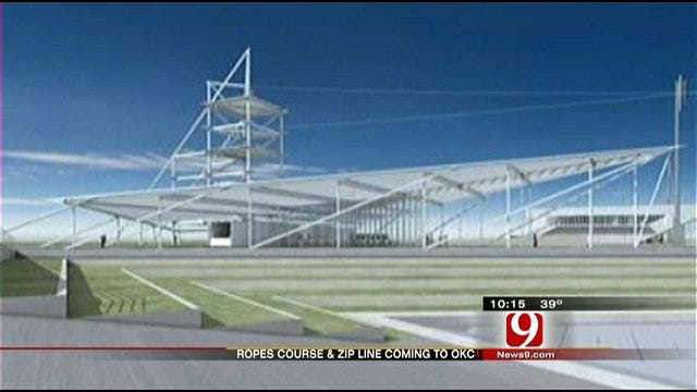 Zip Lines, Rope Trails In The Works For OKC Boathouse District
