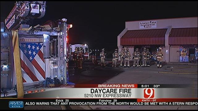 Oklahoma City DayCare Center Damaged By Fire
