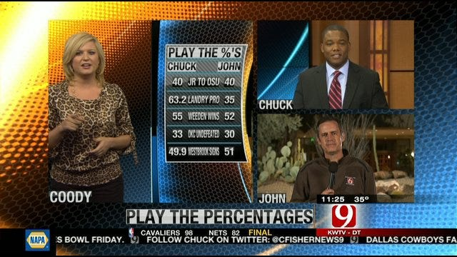 Play the Percentages: Jan. 1, 2012