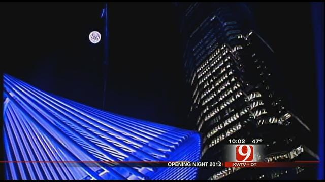 Thousands Crowd Downtown For 'Opening Night'