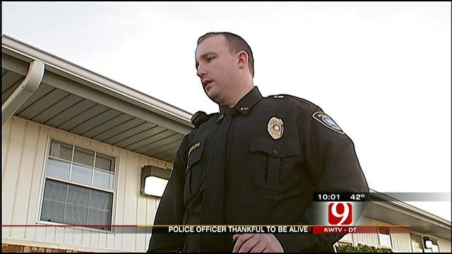 Valley Brook Officer Credits OKC Officers With Saving His Life
