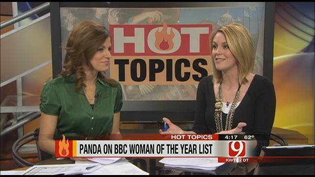 Hot Topics: Panda Named Woman Of The Year