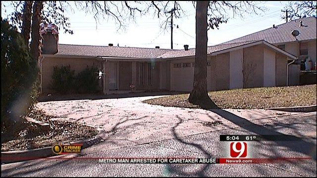 Man In Jail Accused Of Abusing Elderly Mother