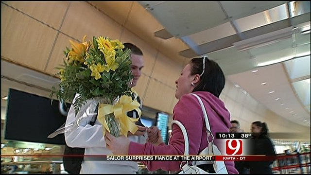 Happy Homecoming For One Oklahoma Couple