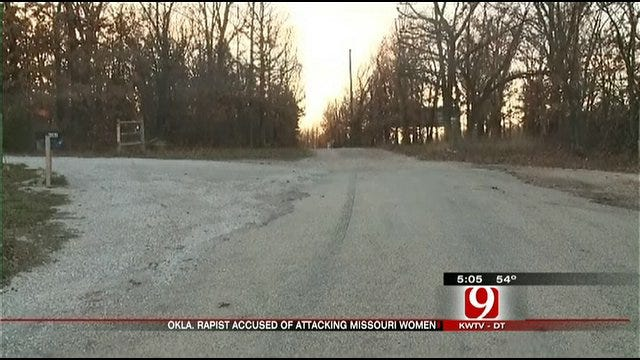 Convicted Oklahoma Rapist Kidnaps Two Missouri Women