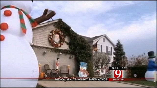 Medical Minute: Holiday Safety Advice