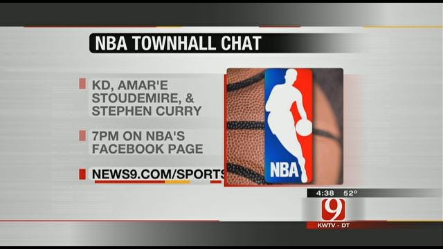Chat Live With Kevin Durant Thursday