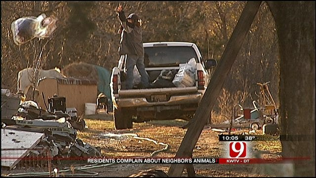 Shawnee Residents Concerned About Neighbor's Animals
