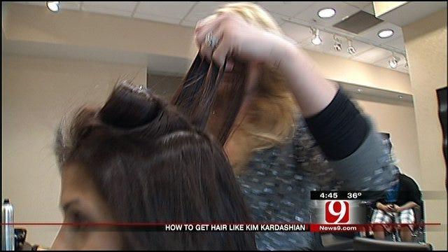 Styling Oklahoma's Own: Kim Kardashian Hair Style