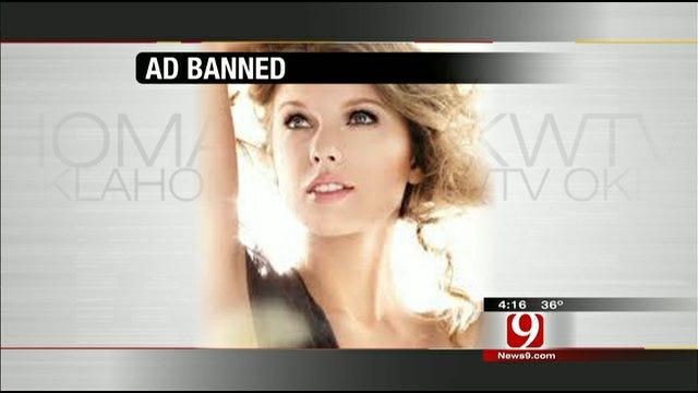 Hot Topics: Cover Girl Ad Banned