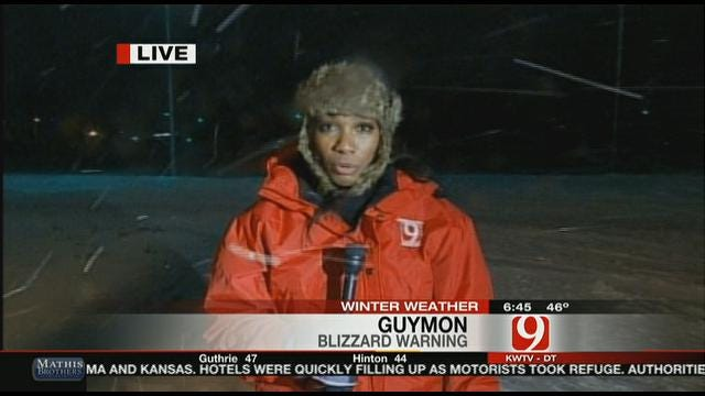 Blizzard In Guymon